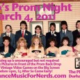Just like the flier says: Dressing up is encouraged but not required. Back once again, the ever popular retro video games on the big screen. There will be a prom […]