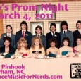 Back by popular demand, DMFN presents 80's Prom Night. March 4, 2011 at the Pinhook in Durham. More details soon, in the meantime, here's a teaser flier.
